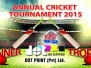 Annual Cricket Tournament 2015