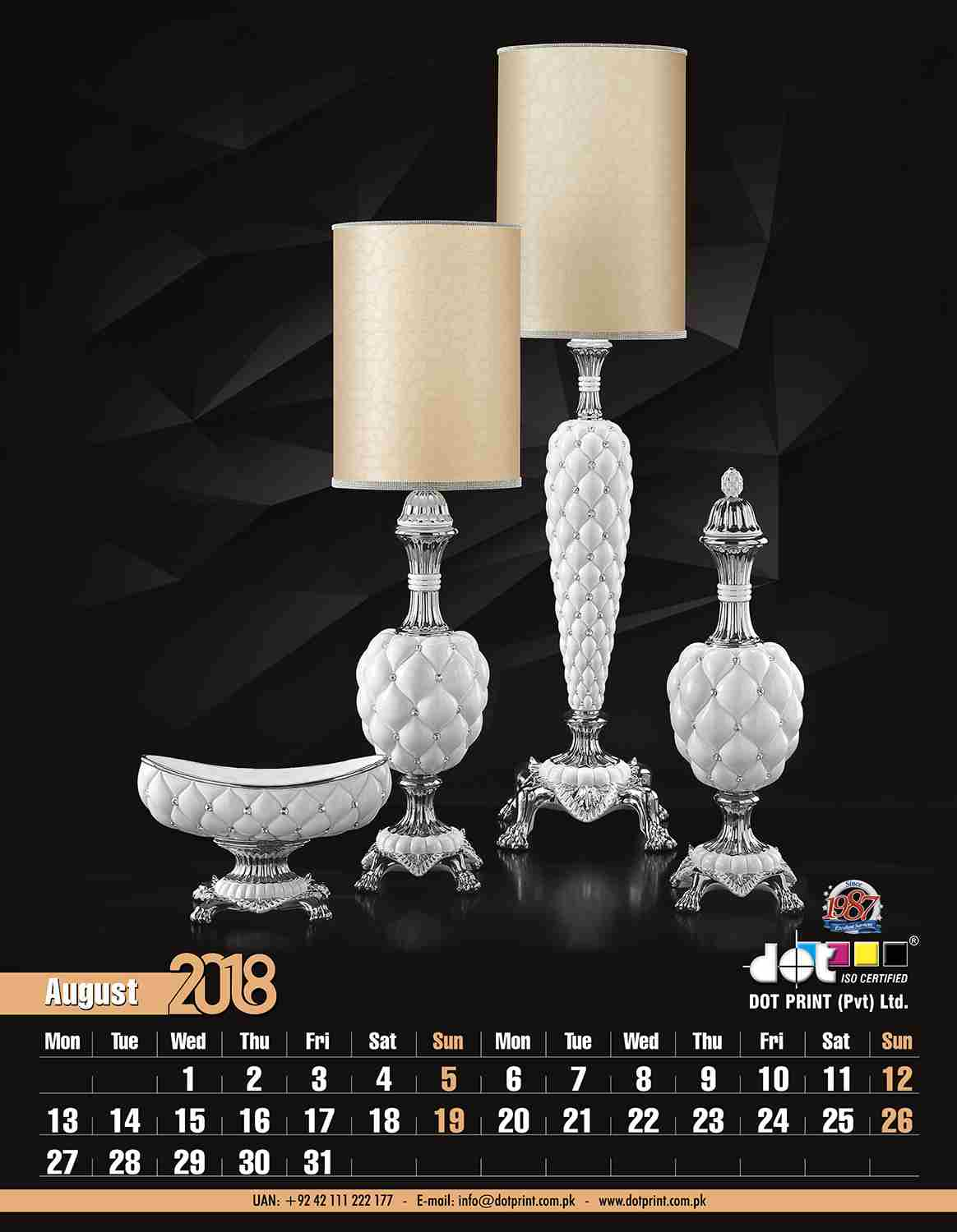 50080430152-00 Dotprint Calendar 2018 Set#2,2-2